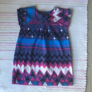 4T Tea Collection cotton dress.